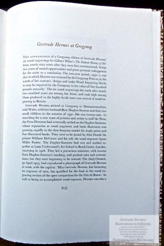 Gertrude Hermes 'Gregynog' Selborne, Gwasg Gregynog, Sample Text #4