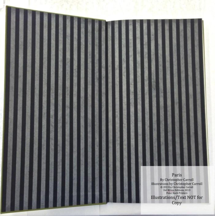 Paris, Peter Koch Printers, End papers