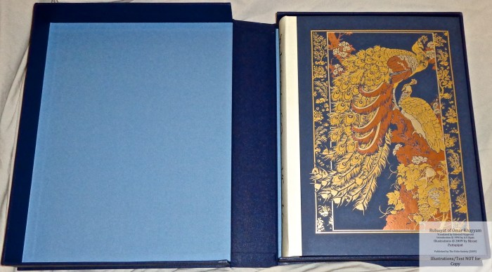 The Folio Society LE, Book in Solander