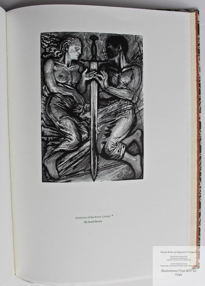 Simon Brett, an Engraver's Progress, Sample Illustration #17 (Grouping 6)