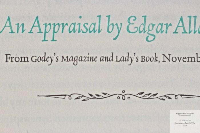 Rappaccini's Daughter, Allen Press, Macro of Sample Text #2
