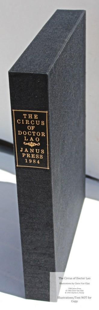 The Circus of Doctor Lao, Janus Press, Custom Slipcase