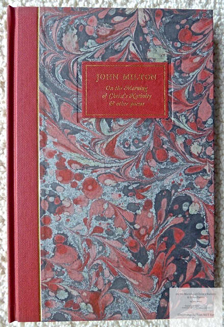 On the Morning of Christ's Nativity & other poems, The Folio Society, Covers