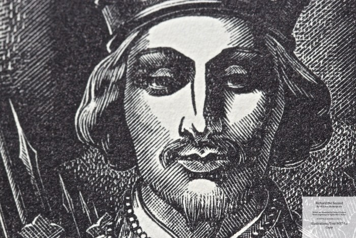 Richard the Second, Limited Editions Club, Frontispiece Macro