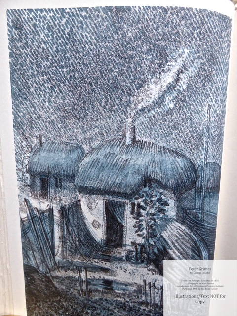 Peter Grimes, The Folio Society, Sample Illustration #2