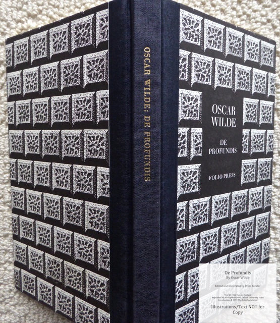 De Profundis, The Folio Society, Spine and Covers