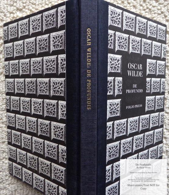 De Profundis, The Folio Society, Spine and Covers