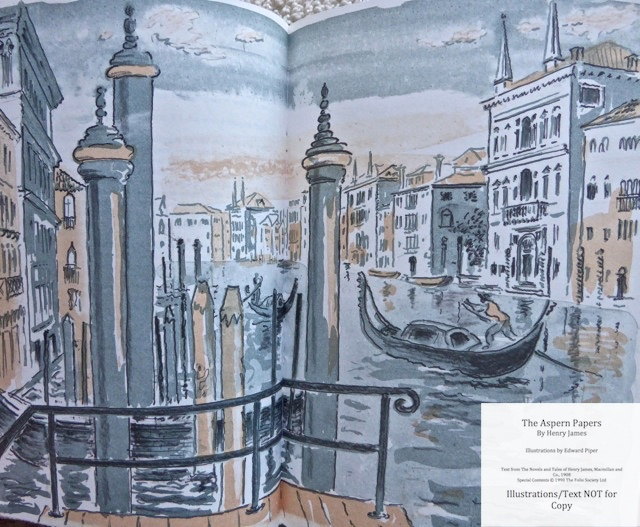 The Aspern Papers, The Folio Society, Sample Illustration #3