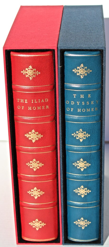 'The Odyssey' and 'The Iliad', Limited Editions Club, Books in Slipcases (custom)