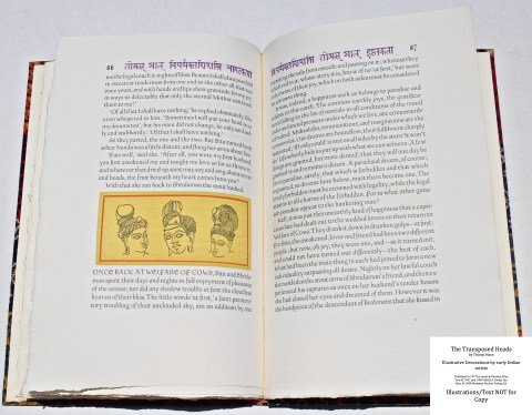 The Transposed Heads, The Allen Press, Sample Decoration with Text #7