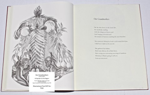 Our Grandmothers, Limited Editions Club, Sample Illustration #1 with Text