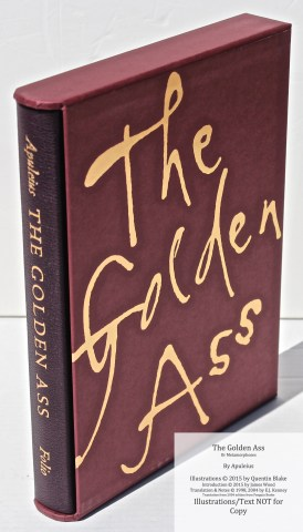 The Golden Ass, The Folio Society, Book in Slipcase
