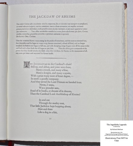 The Ingoldsby Legends, Barbarian Press, Sample Text #2