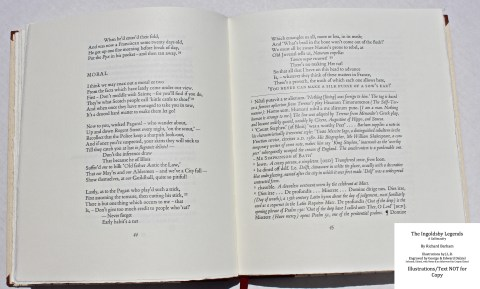 The Ingoldsby Legends, Barbarian Press, Sample Text #3