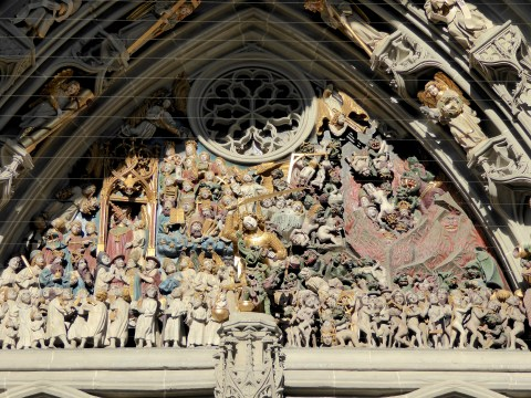 Photo 30: The Last Judgement - Cathedral of Bern