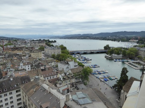 Photo 66: View #2 - from top of the Grossmuenster church tower