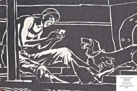The Narrative of Arthur Gordon Pym, Limited Editions Club, Macro of Sample Illustration #1