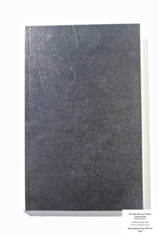 The Narrative of Arthur Gordon Pym, Limited Editions Club, Front Cover