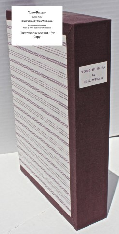 Tono-Bongay, Arion Press, Slipcase Spine