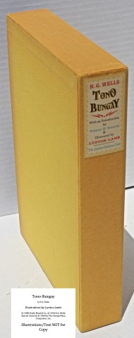 Tono-Bongay, Limited Editions Club, Slipcase Spine