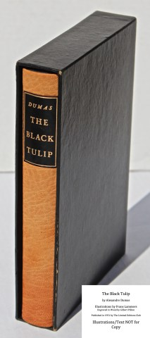 The Black Tulip, Limited Editions Club, Book in Slipcase