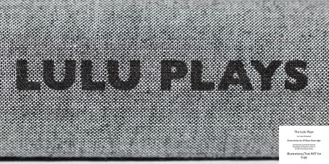 The Lulu Plays, Arion Press, Spine Macro