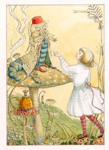 Alice in Wonderland, The Folio Society, Sample Illustration