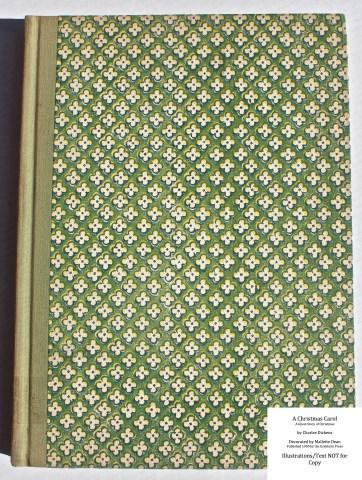 A Christmas Carol, Grabhorn Press, Cover