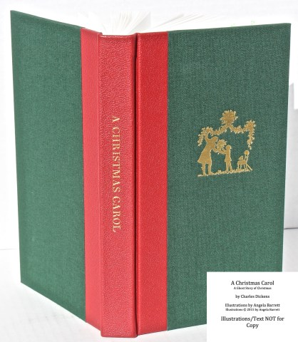 A Christmas Carol, Hand & Eye Editions, Spine and Cover