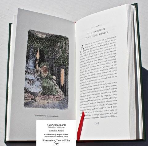 A Christmas Carol, Hand & Eye Editions, Sample Illustration #5 with Text