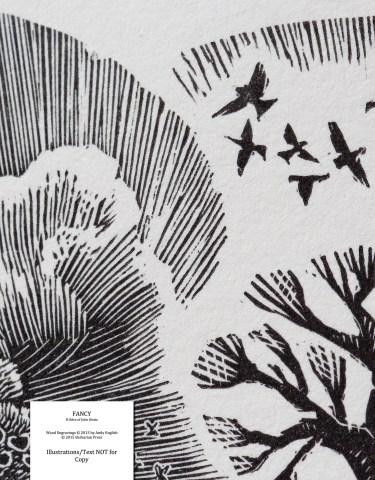 Fancy: 8 Odes of John Keats, Barbarian Press, Frontispiece Macro