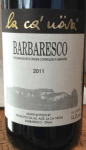 2011 La Ca' Nova Barbaresco