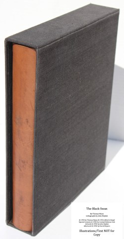 The Black Swan, Limited Editions Club, Book in Slipcase