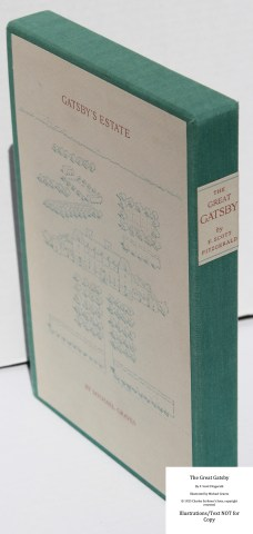 The Great Gatsby, Arion Press, Slipcase Spine