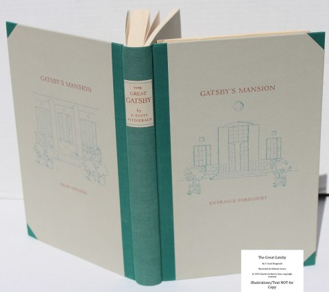 The Great Gatsby, Arion Press, Spine and Covers