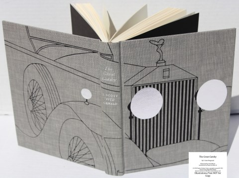 The Great Gatsby, Limited Editions Club, Spine and Covers