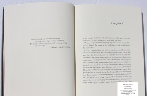he Great Gatsby, Limited Editions Club, Sample Text #3