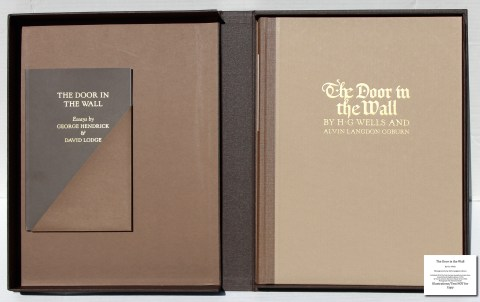 The Door in the Wall, The Folio Society, Book and Companion Volume in Solander