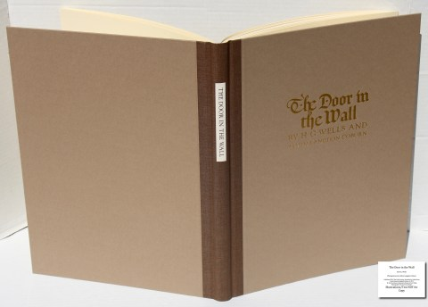 The Door in the Wall, The Folio Society, Cover and Spine