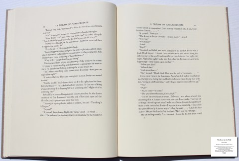 The Door in the Wall, The Folio Society, Sample Text #5