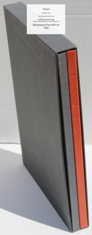 Venice, Whittington Press, 'B' Edition Book and Extra Suite of Prints in Slipcase