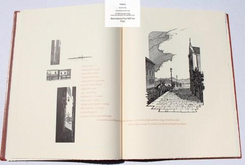 Venice, Whittington Press, Sample Illustrations #2 with Text