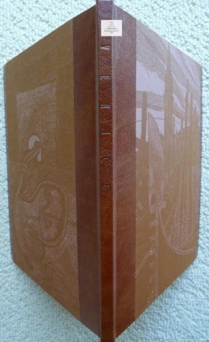 Venice, Whittington Press, 'C' Edition Spine and Cover