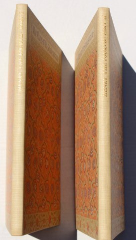 King Henry IV, Parts I and II, Limited Editions Club, Spine and Covers