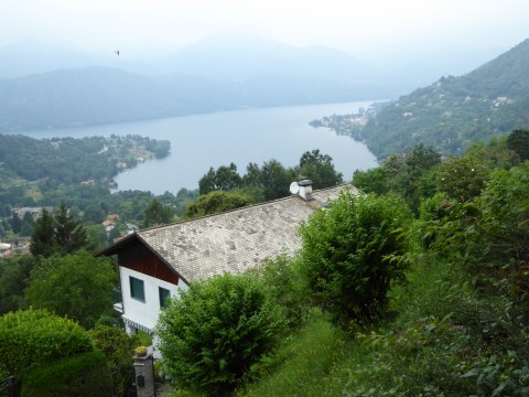 View of Lake Orta from Sacro Monte