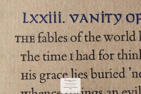 Michelangelo: Sonnets, Allen Press, Macro of Sample Text #6