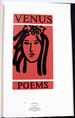 Venus Poems, Shanty Bay Press, Title Page