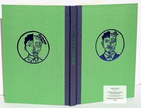 Pedro Paramo, Arion Press, Spine and Covers