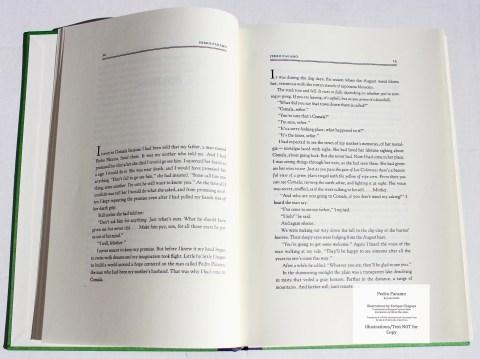 Pedro Paramo, Arion Press, Sample Text #2