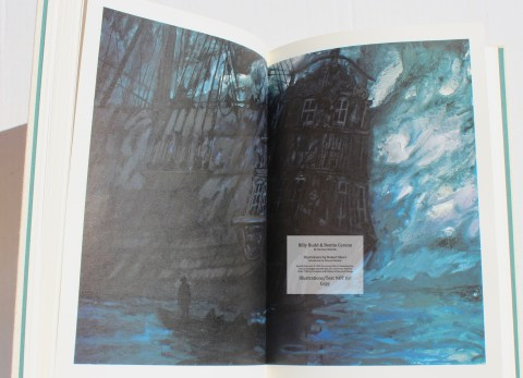 Billy Budd and Beneto Cereno, Limited Editions Club, Sample Illustration #5
